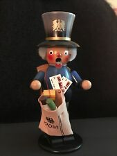 Original Steinbach German Folk Art incense smoker - Postman