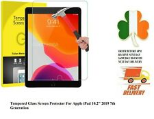 """GENUINE TEMPERED GLASS SCREEN PROTECTOR FOR NEW APPLE IPAD 10.2"""" 2019 7th Gen"""