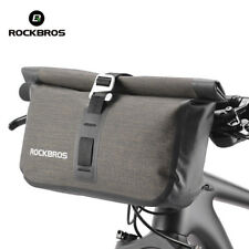 ROCKBROS Waterproof Handlebar Bicycle Bag Shoulder Pack Front Pocket Basket 4-5L
