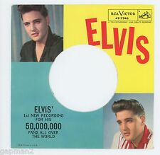 Elvis Presley 1960 RCA 45rpm & Picture Sleeve Stuck On You b/w Fame and Fortune