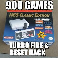 NEW MODDED Nintendo NES Classic Edition with 900 GAMES mod hacked Priority Ship
