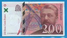 Gertbrolen  200 Francs EIFFEL Type 1996 Billet E040058325