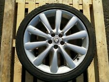 JAGUAR XF 19 INCH ALLOY WHEEL AND TYRE 8W831007 245/40/19 8.5J 19EH2 #9