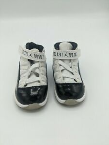 Nike Air Jordan XI 11 Retro Concord 378040-107 Baby Toddler Shoes Size 6c