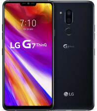 "LG G7 ThinQ schwarz 64GB LTE Android Smartphone o. Simlock 6,1"" Display 16MPX"