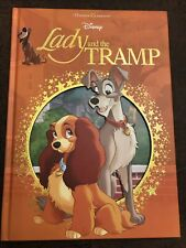 Disney Classics Lady and The Tramp Die-cut Hardcover Book Children Reading