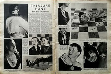 Treasure Hunt For Your Wardrobe Vintage Clothes, Fashion Article 1950