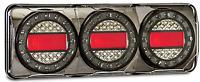 PAIR LED COMBO LIGHTS TRUCK TRAILER CARAVAN FLOAT MaxilampC3XRW