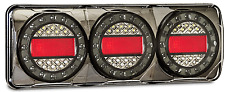 PAIR LED COMBO LIGHTS TRUCK TRAILER CARAVAN FLOAT MaxilampC3XRW