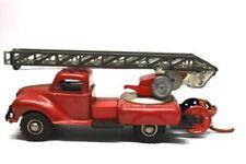 Antike Original-Blechspielzeug-feuerwehrautos Nutzfahrzeuge (1945-1970