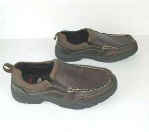 Wrangler Men's Memory Foam Brown Casual Comfort Slip-On Shoe/Preowned Size 8