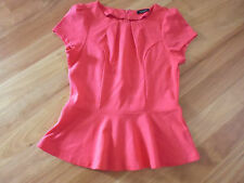 LADIES CUTE RED/PINK  POLYVISCOSE SLEEVELESS TOP BY CROSSROADS  SIZE M  10//12