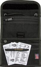 ESEE Passport Case Black Nylon Construction w/ Black Fisher Space Pen
