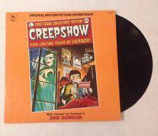 CREEPSHOW: 1982 ORIGINAL Soundtrack LP Varese Sarabande  Horror Vinyl STV 81160