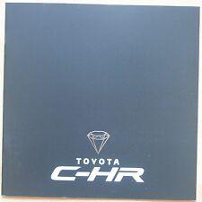 Catalogue Nouveau Toyota C-HR (yc Hybride) - France 09/2016 - 16 pages
