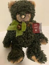 Charlie Bears Victor, Soft Curly Plush, 46cm, Forest Green
