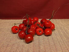 Nice Group of Faux Fruit Small Apples 1 1/4""