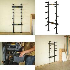 toughsystem 25-1/2 in. workshop racking storage system, black | dewalt equipment