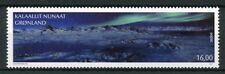 Groenland 2018 neuf sans charnière incroyables vues _ Aurora Borealis 1 V Set montagnes timbres