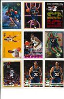 Lot of (30) Jamal Mashburn Basketball Cards w/ Rookie RC & INSERTS -- NICE!!!!