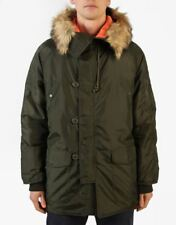 Native Youth Snorkel Hooded Parka Faux Fur Trim Large Urban Outfitters New