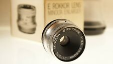 E ROKKOR Lens  Minolta  Enlarger  50mm  4.5