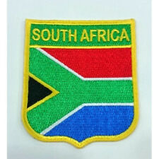 South Africa Flag Embroidered Sew/Iron On Patch Patches