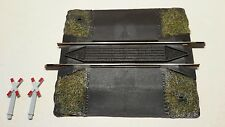 HO gauge Fleischmann 6499 10cm. track crossing with signs - unused stock