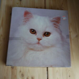 Springbok SNOWBALL A Reminiscence Jigsaw Puzzle 500+ Pieces WHITE CAT PZL2088