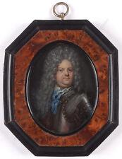 """""""Portrait of Stanislaw I Leszczynski"""", high quality French miniature"""
