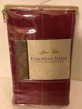 ROSE TREE ONE EUROPEAN SHAM. CLEARMONT COLLECTION RN116589 brand new!!!