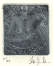 Erotic Ex Libris Harlinde van Meulder : W. Braspennincx (28/40)