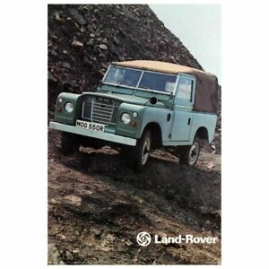 LAND ROVER Wall Poster 22 x 36 inch Vintage Retro Promo Poster 2