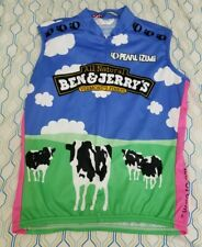 Women's Pearl Izumi Ben and Jerry's Ice Cream Cycling Jersey Bike Italy Medium