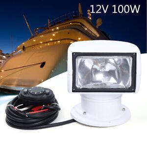 360° Boot Fernbedienung Scheinwerfer + Fernbedienung AUTO LKW Suchscheinwerfer
