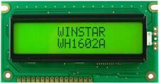 LCD Display Module, 16x2, Yellow / Green - WINSTAR WH1602A-YYH-JT
