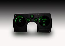 CAMARO DIGITAL Gauge Instrument DASH PANEL FOR 82-90 Intellitronix GREEN LEDS!