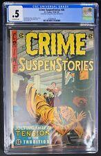 Crime Suspenstories #26 CGC 0.5  12/54-1/55 3758588024 - EC Comics Classic Cover