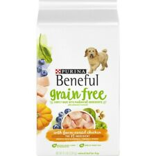 Purina Beneful Grain Free With Farm-Raised Chicken Dry Food 4.5 lbs