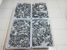 LEGO 1 kg  Kiloware hell und dunkel graue Steine, Platten und Sonderteile