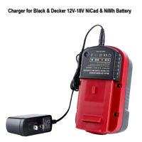 Battery Charger For Black For Decker 9.6V-18V NiCd NiMh HPB18 HPB18-OPE Battery