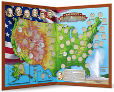 Collectible Quarters Map - America's Natural Wonders & Parks Quarters