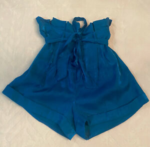 New BEBE Paper Bag Shorts Size 10 With Tags