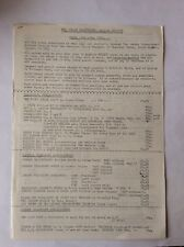The London Underground Railway Society - Sales List - May 1982