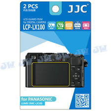 JJC LCD Screen Protector Film for PANASONIC DMC-LX100 II TZ100 TX90 ZS200 FZ85