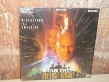 STAR TREK Der erste Kontakt - LASERDISC LD Widescreen Edition -- Digital Audio