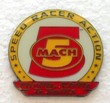 SPEED RACER ACTION MACH 5 THRILLS CHILLS PIN