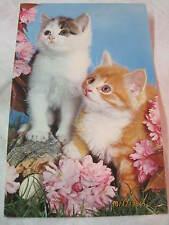 Vintage Elgate Postcard Kittens Unused #Xt-124
