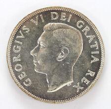 1952 Canada Silver Half Dollar George VI Km45 - CH BU #01283466g