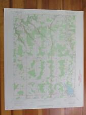 Edinboro North Pennsylvania 1972 Original Vintage USGS Topo Map